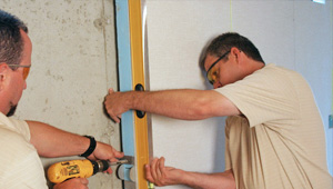 installing a basement wall finishing system in Riverhead