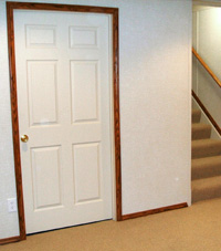 easy to use doors by total basement finishing