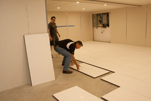 Installing insulated subfloor panels in Brookhaven