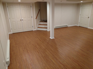 Basement Flooring After in Brookhaven