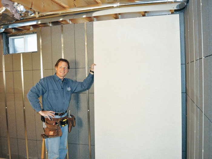 Insulated Basement Wall Paneling In Islip