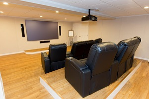 Basement theater installed in Brookhaven