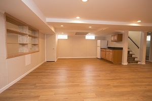Basement finishing flooring in Islip & nearby